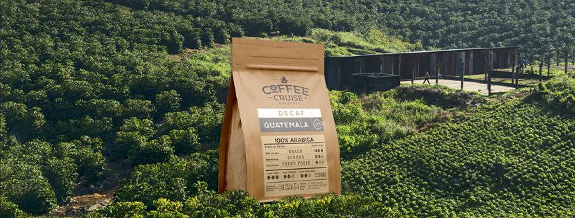 GUATEMALA – kvapnios tobulo skonio pupelės be kofeino